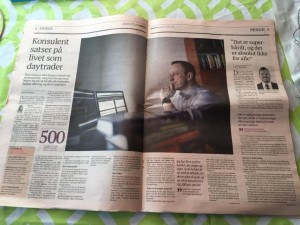 DaytraderLand.com omtalt i Børsen